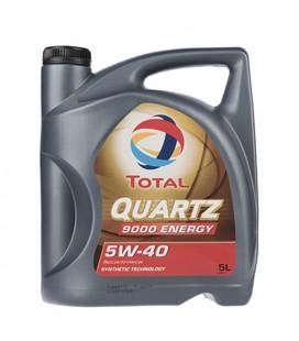روغن موتور توتال مدل QUARTZ 9000 ENERGY 5W40 5L