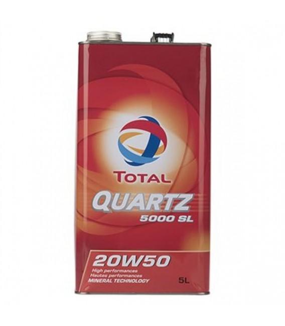 روغن موتور توتال مدل QUARTZ 5000 20W50 5L