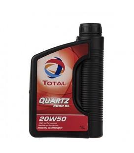 روغن موتور توتال مدل QUARTZ 5000 20W50 1L