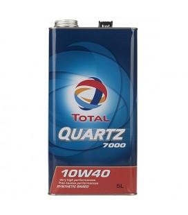 روغن موتور توتال مدل QUARTZ 7000 10W40 5L