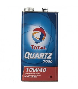 روغن موتور توتال مدل QUARTZ 7000 10W40 4L