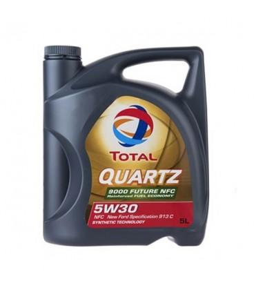 روغن موتور توتال مدل QUARTZ 9000 FUTURE NFC 5W30 5L